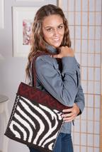 Zebra Tote Bag Pattern