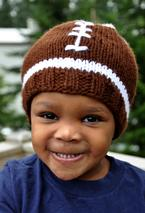 Faster Football Hat Pattern