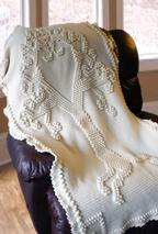 Tree of Love Heirloom Crochet Afghan Pattern