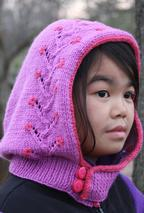 Flowering Vine Hood (Child Sizes) Pattern