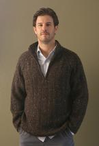 Learn to Knit a Men's Sweater Pattern