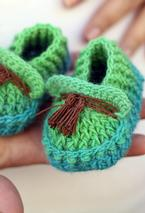 Shoebeedoo Crochet Loafers Pattern