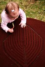 Big Leaf Baby Blanket Pattern