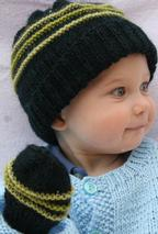 PlayTime Hat and Mitten Set Pattern