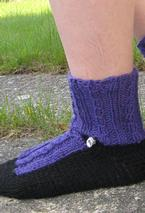 Fancy Shoes Slipper Socks Pattern