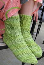 Canobie Cable Socks Pattern