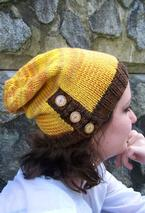 Button-Down Slouch Hat Pattern