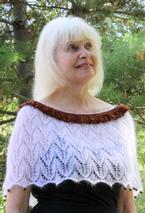 Charming Lace Capelet Pattern