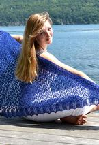 Shale Beach Shawl Pattern