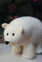 Polly the Polar Bear and Her Cub Pattern