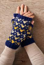 Feathered Friends Mittens Pattern