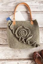 Green Rose Purse Pattern