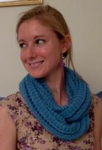 Lighter Than Air Infinity Scarf Pattern