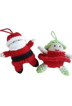 Tiny Santa and Christmas Fairy Pattern
