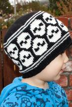 All Ages Super Skull Crochet Beanie Pattern