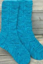 Watchin' the Tides Roll Away Socks Pattern