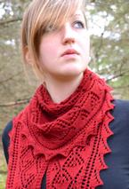 Flicker and Flame Shawlettes Pattern