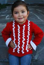 Carnival Child Sweater  Pattern