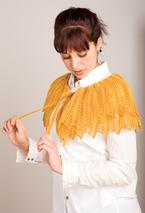 Golden Fichu Shawl Pattern