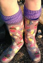Puddle Jumping Boot Toppers Pattern
