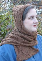 Blustery Day Hooded Scarf Pattern