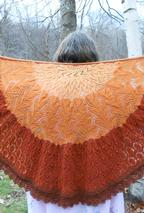 Pumpkin Pie (Pi) Shawl Pattern