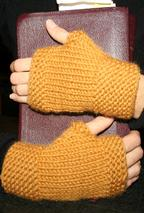 My First Fingerless Mittens Pattern