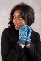Celtic Medallion Mittens Pattern