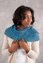 Diamonds in the Sea Shawlette Pattern