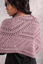 Closing Fans Crochet Shawl  Pattern