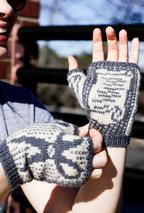 Rock, Paper, Scissors Mitts Pattern