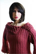 Crocodile Stitch Crochet Tunic Pattern