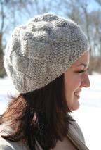 Entrelac Winter Hat Pattern