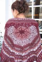 Wendy P Stranded Shawl Pattern