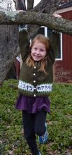 Kid's Cardigan: As Easy as 1,2,3 Pattern Pattern