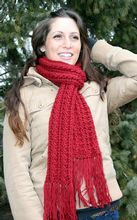 Two4One Cabled Crochet Scarf Pattern Pattern