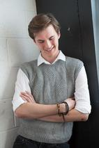 Men's Grey Vest Pattern