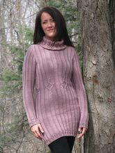 Entangled Knit Dress Pattern Pattern
