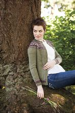 Sugar Maple Cardigan Pattern Pattern