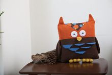 Owl Pillow Pattern Pattern