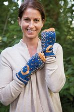 Hold the Night Mittens Pattern Pattern