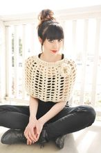 Cottage Crochet Caplet Pattern Pattern