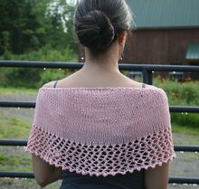Seaside Shawl Pattern Pattern