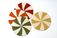 Shaker Dishcloths & Coasters Pattern Pattern