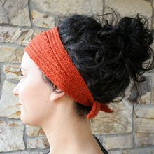 Wrap and Tie Headband Pattern Pattern