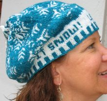Let It Snow Hat Pattern Pattern