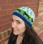 Wolf in the Wild Beanie Pattern