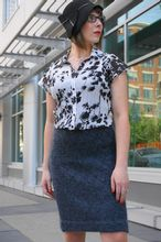 The Helen Pencil Skirt Pattern