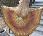 Fall Out Stranded Shawl Pattern