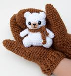 Crochet Gifting Mittens Pattern